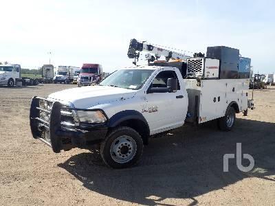 2013 DODGE RAM 5500 4x4 Mechanics Truck Parts/Stationary Trucks - Other