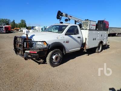 2012 DODGE RAM 5500 4x4 Mechanics Truck