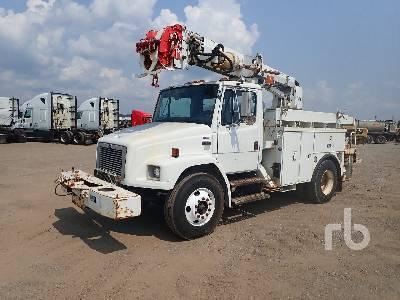2002 FREIGHTLINER FL80 S/A w/Altec D845AB Digger Derrick Truck