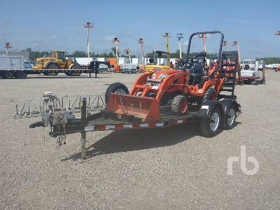 2011 KUBOTA BX25D 4WD Utility Tractor