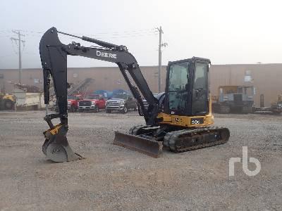 2014 JOHN DEERE 50G Mini Excavator (1 - 4.9 Tons)