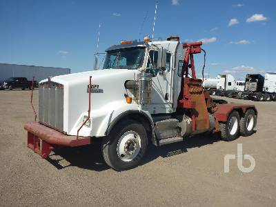 2012 KENWORTH T800 T/A Winch Tractor