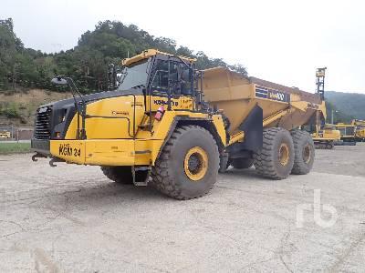 2016 KOMATSU HM400-5 6x6 Articulated Dump Truck