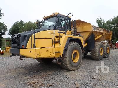 2014 KOMATSU HM400-3 6x6 Articulated Dump Truck