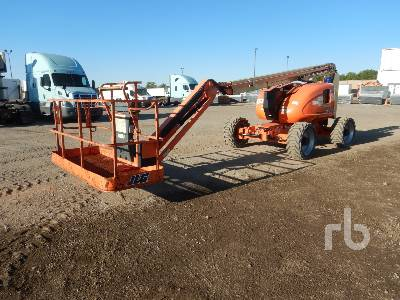 2008 JLG 600AJ 4x4 Articulated Boom Lift