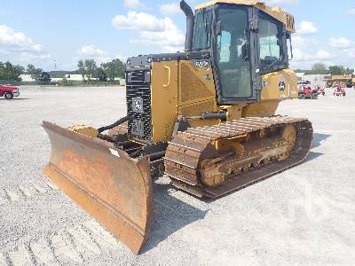 2014 JOHN DEERE 650K LGP Crawler Tractor