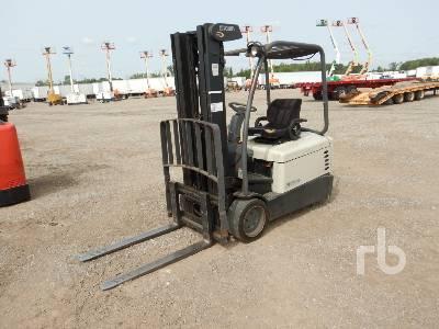 CROWN SC4540-40 4000 Lb Electric Forklift