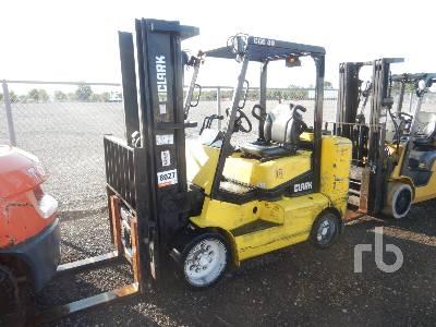 2013 CLARK CGC40 7000 Lb Forklift