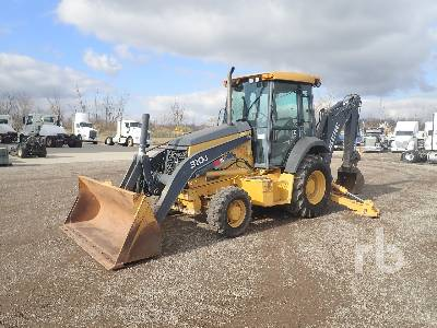 2010 JOHN DEERE 310J 4x4 Loader Backhoe