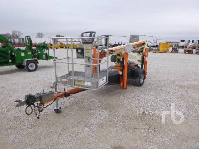 2013 JLG T350 Electric Tow Behind Boom Lift