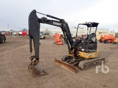 2012 JOHN DEERE 35D Mini Excavator (1 - 4.9 Tons)