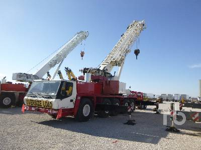 2005 GROVE GMK5165 165 Ton 10x8x8 All Terrain Crane