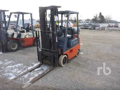 TOYOTA 7FGCU15 Forklift