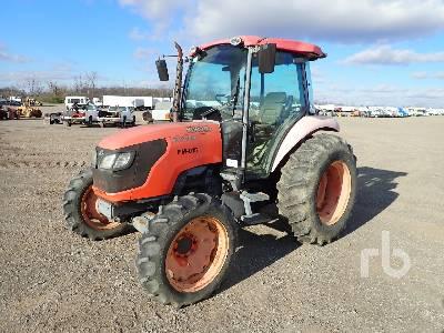 KUBOTA M7040D MFWD Tractor