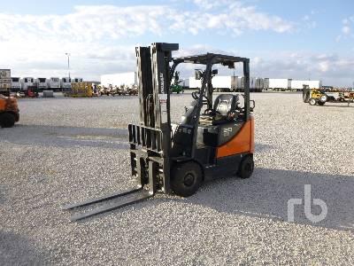 DOOSAN G20SC-5 2800 Lb Forklift