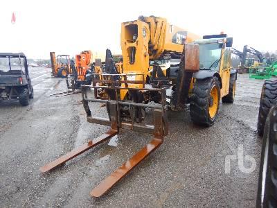 2012 CATERPILLAR TL1055 10000 Lb Telescopic Forklift