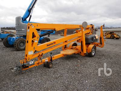 2016 HAULOTTE 5533A Tow Behind Articulated Boom Lift