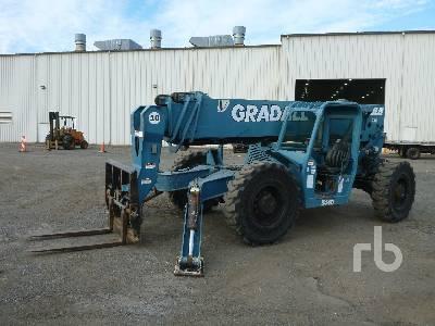 2006 GRADALL 544D10 10000 Lb 4x4 Telescopic Forklift