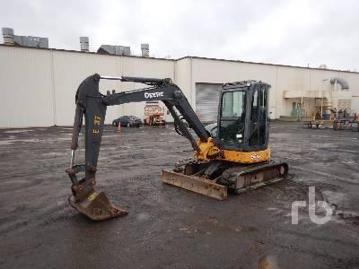 2007 JOHN DEERE 50D Midi Excavator (5 - 9.9 Tons)