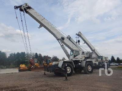 1989 LINK-BELT HSP8040 40 Ton 4x4x4 Rough Terrain Crane