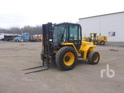 2013 JCB 930-4 6600 Lb 4x4 Rough Terrain Forklift