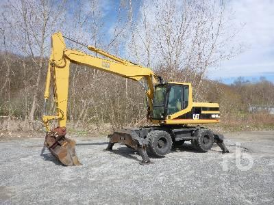 2001 CATERPILLAR M318 4x4 Mobile Excavator