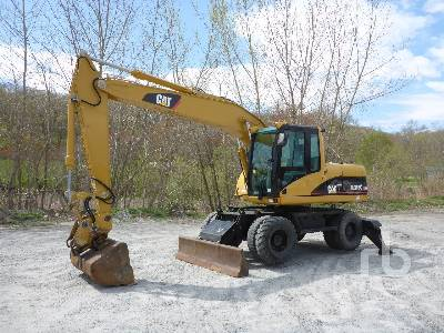 2004 CATERPILLAR M316C 4x4 Mobile Excavator