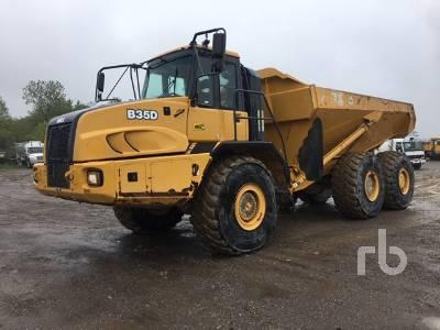 2014 BELL B35D WDB 6x6 Articulated Dump Truck