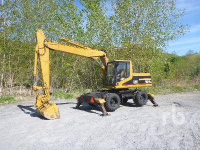 1996 CATERPILLAR M318 4x4 Mobile Excavator