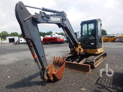 2009 JOHN DEERE 60D Midi Excavator (5 - 9.9 Tons)