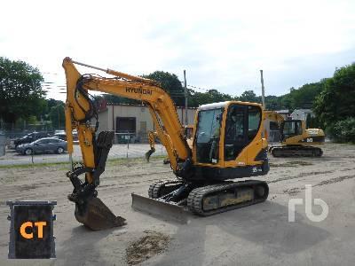 2016 HYUNDAI R55-9A Midi Excavator (5 - 9.9 Tons)