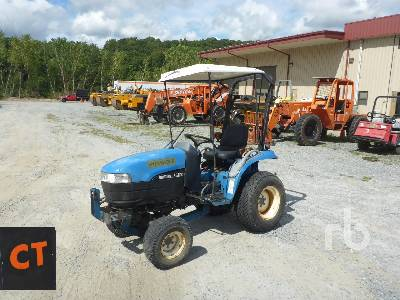 2000 NEW HOLLAND TC21D 4WD Utility Tractor