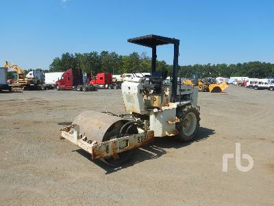 1997 INGERSOLL-RAND SD40D Smooth Vibratory Roller
