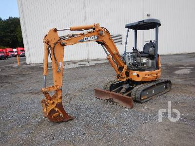 2010 CASE CX31B Mini Excavator (1 - 4.9 Tons)