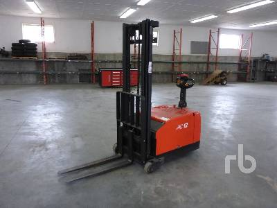 2017 HELI CDD12 1322 Lb Walk Behind Stacking Electric Forklift