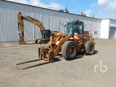 2002 CASE 721C Wheel Loader