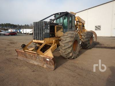 2004 JOHN DEERE 648G Series III Rubber-Tired 4x4 Skidder