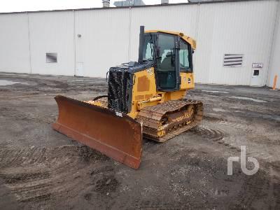 2014 JOHN DEERE 450J LGP Crawler Tractor