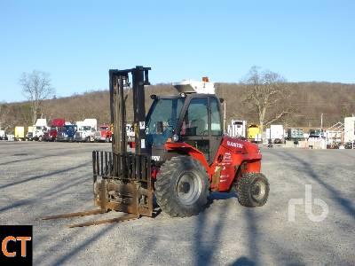 2010 MANITOU M50-4T 10000 Lb 4x4 Rough Terrain Forklift
