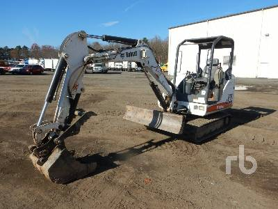 2004 BOBCAT 331 Mini Excavator (1 - 4.9 Tons)