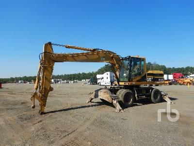 1997 CATERPILLAR M318 4x4 Mobile Excavator
