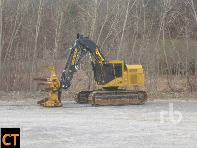 2019 TIGERCAT 845E Crawler Feller Buncher
