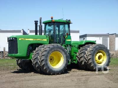 2001 JOHN DEERE 9300 4WD Tractor