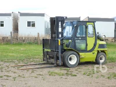 2007 CLARK CMP50SL 4800 Lb Rough Terrain Forklift