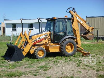 2009 CASE 580M III 4x4 Loader Backhoe