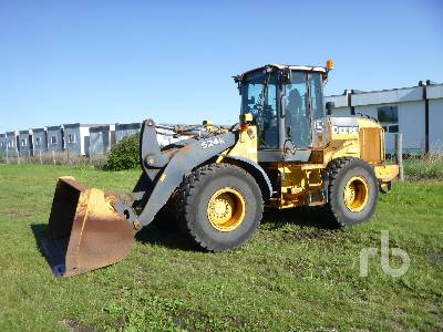 2012 JOHN DEERE 524K Wheel Loader