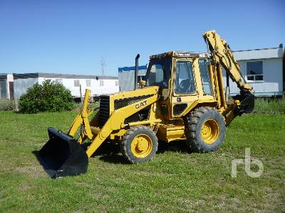 1988 CATERPILLAR 416 4x4 Loader Backhoe