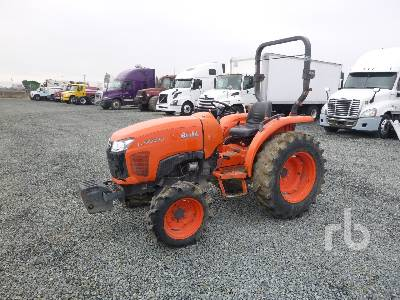 2013 KUBOTA L3800D 2WD Utility Tractor