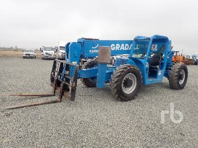 2002 GRADALL 534D10 10000 Lb 4x4 Telescopic Forklift