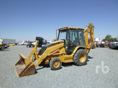 2005 CATERPILLAR 420D Loader Backhoe